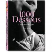 książki erotyczne: album 1000 Dessous // historia damskiej bielizny