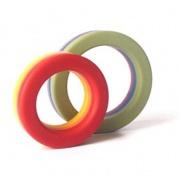 akcesoria erotyczne: pierścień na penisa Cockring Rainbow Pack // 2 tęczowe cock-ringi