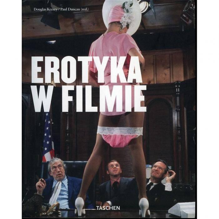 książki erotyczne: album Erotyka w filmie