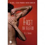książki erotyczne: powieść Facet na telefon