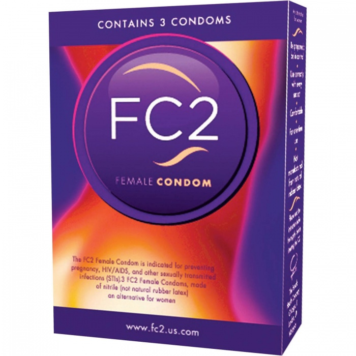 akcesoria erotyczne: Femidom FC2 // prezerwatywa // dla osób z pochwą