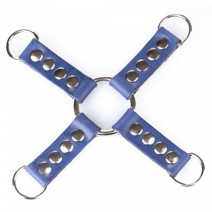 akcesoria erotyczne: bdsm Łącznik Hogtie // True Blue // zapięcie D-ring