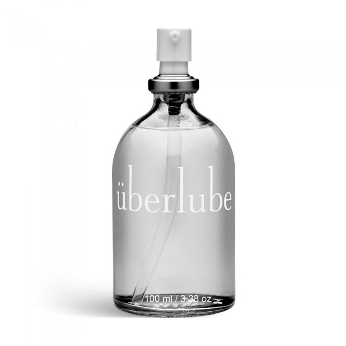 akcesoria erotyczne: überlube – 100 ml // lubrykant silikonowy // w szklanej butelce