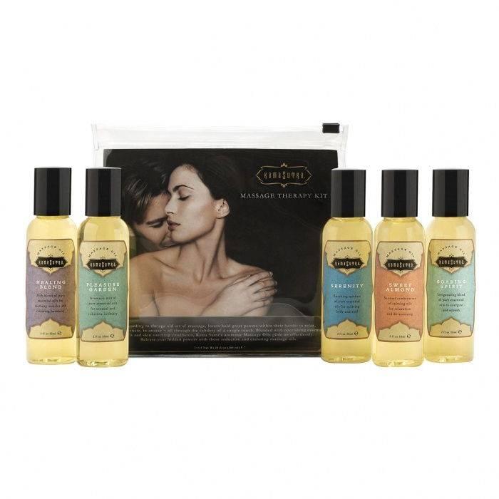 akcesoria erotyczne: Massage Therapy Kit // zestaw olejków do masażu