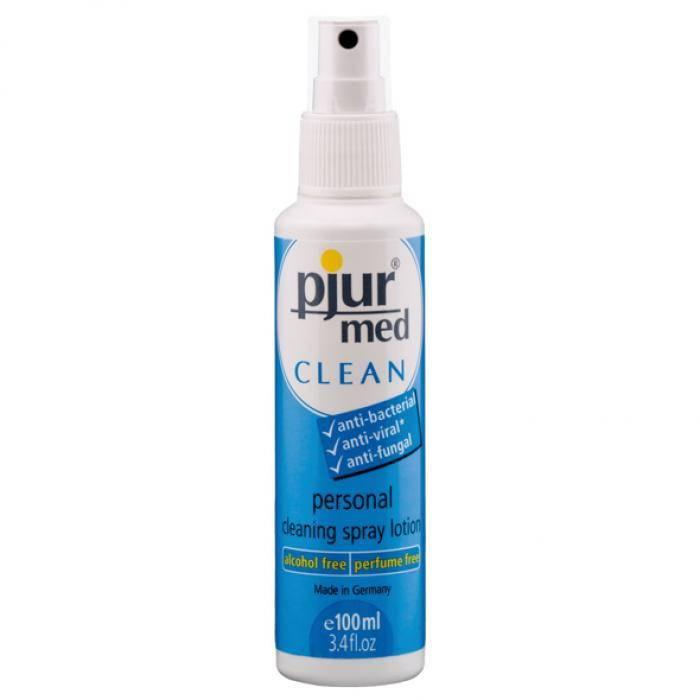 akcesoria erotyczne: MED Clean Spray // płyn do czyszczenia akcesoriów erotycznych