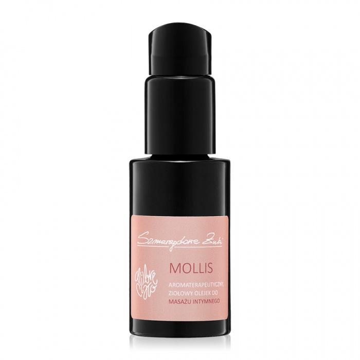 akcesoria erotyczne: Mollis – ziołowy olejek // olejek do masażu intymnego