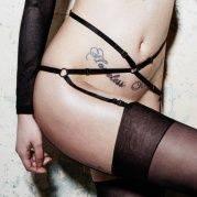 akcesoria erotyczne: odzież erotyczna uprząż Fervor Garter Belt // pas do pończoch