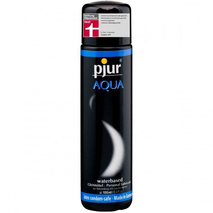 akcesoria erotyczne: lubrykant na bazie wody Aqua – 100 ml // do codziennego stosowania