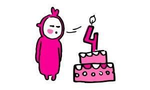 blog erotyczny: 4 urodziny Kinky Winky = 4 dni promocji = darmowa dostawa + zniżki