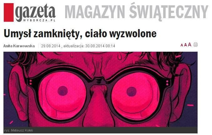 gazeta wyborcza, wywiad