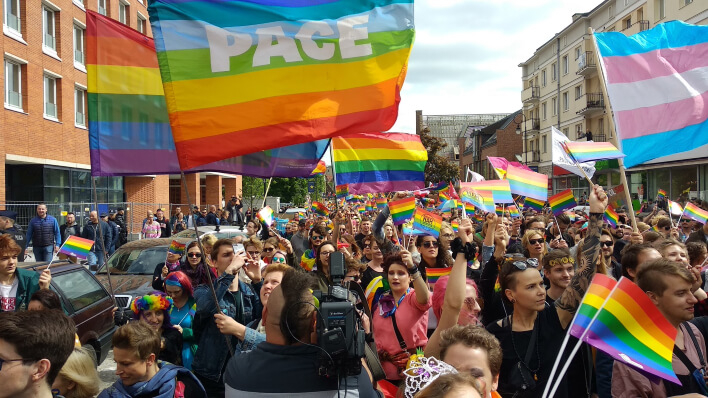 chcemy wolności równości i tolerancji, marsz równości