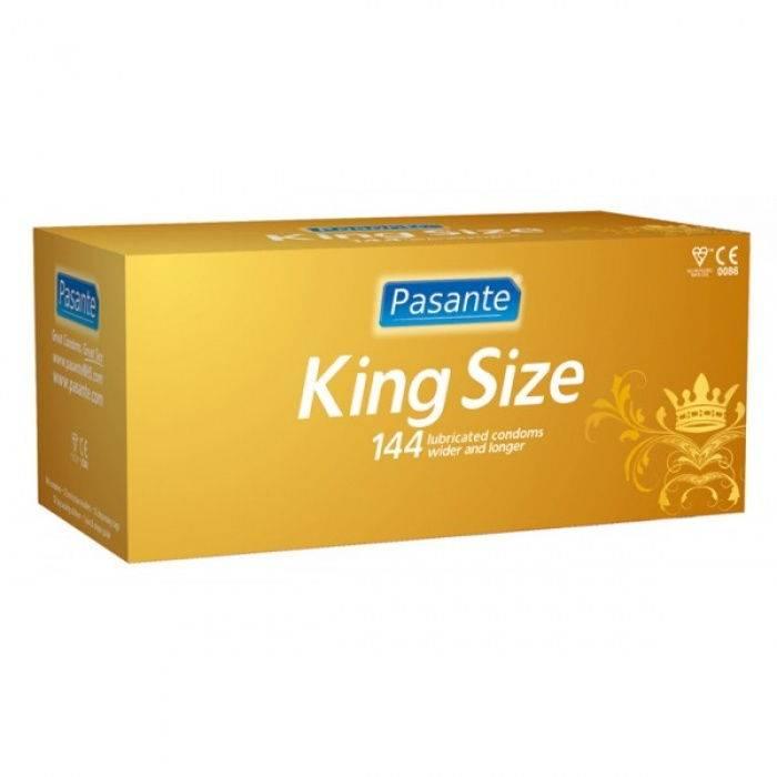 akcesoria erotyczne: prezerwatywy Zestaw prezerwatyw // 144 sztuki – king size