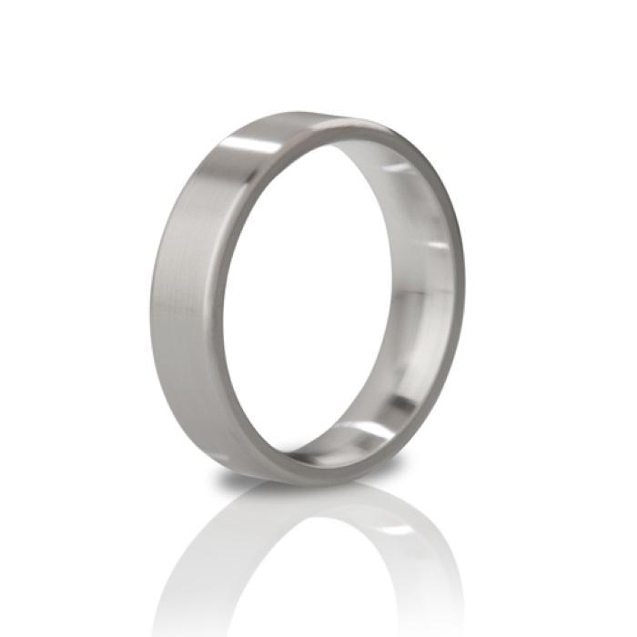 akcesoria erotyczne: pierścień na penisa His Ringness The Duke // metalowy pierścień na penisa // 48 mm - matowy
