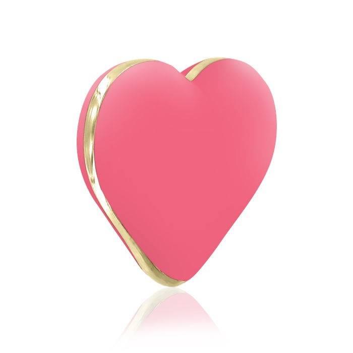 akcesoria erotyczne: Heart Vibe – koralowy // wibrator serduszko