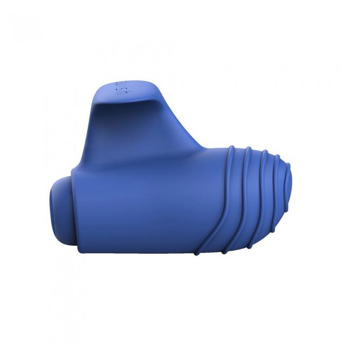 akcesoria erotyczne: Bteased Basic // wibrator na palec // niebieski