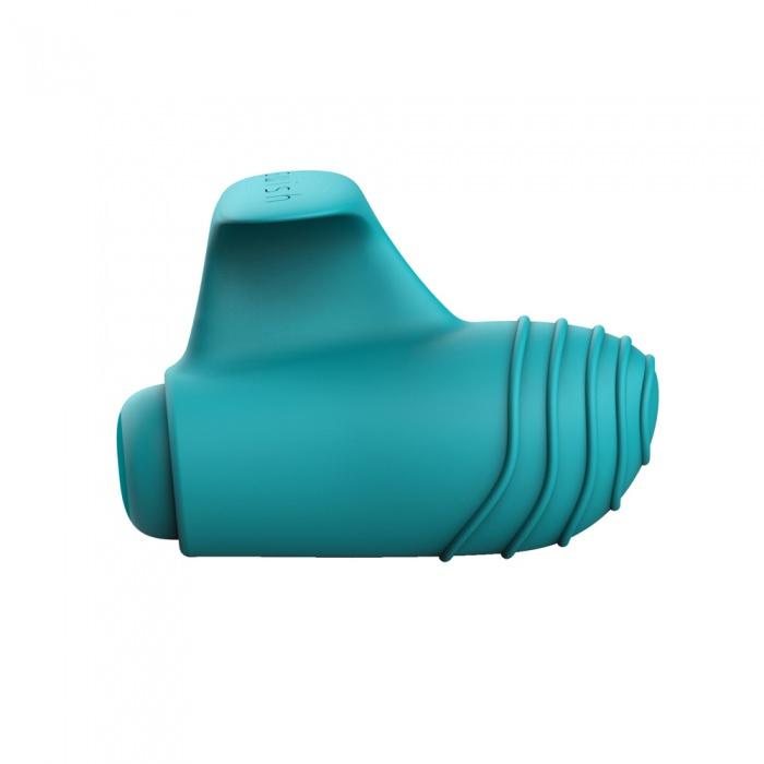 akcesoria erotyczne: wibrator Bteased Basic // wibrator na palec // turkusowy
