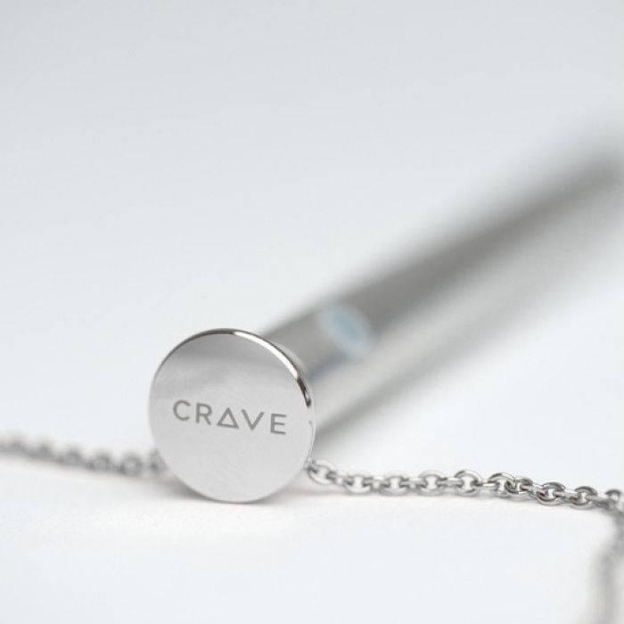 akcesoria erotyczne: Vesper // wibrator naszyjnik // srebrny