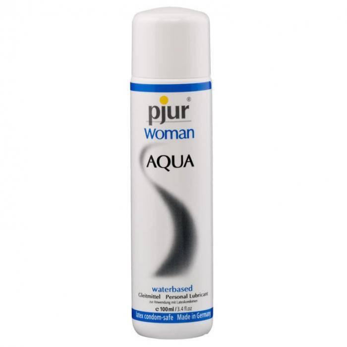 akcesoria erotyczne: lubrykant na bazie wody Woman Aqua // lubrykant dla kobiet