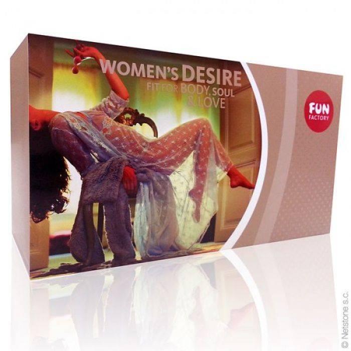akcesoria erotyczne: wg producentów YesForLov Women's Desire // zestaw dla kobiet