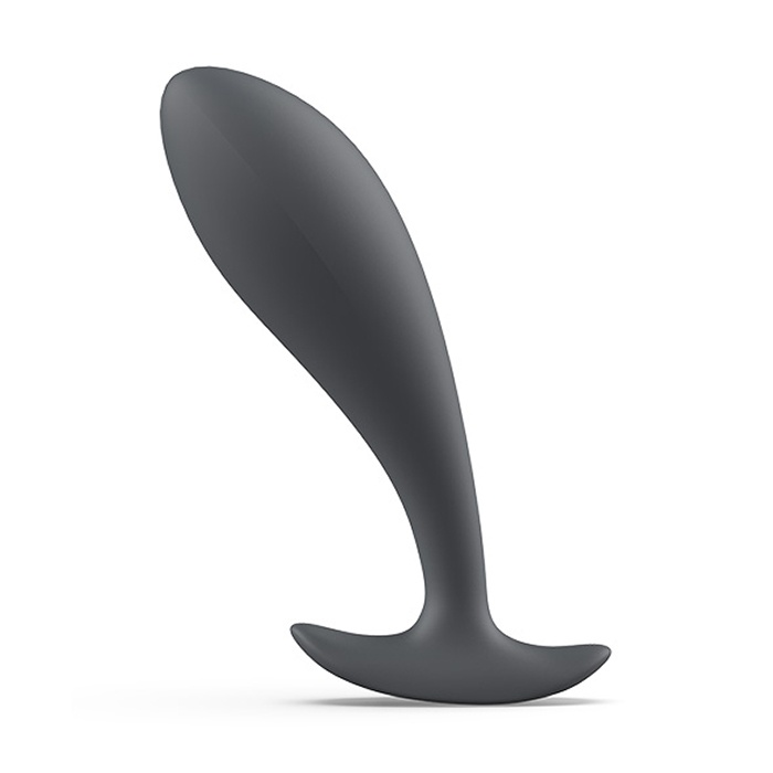akcesoria erotyczne: Bfilled – szara // wtyczka analna