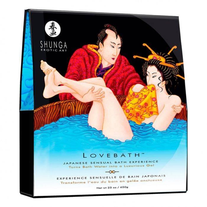 akcesoria erotyczne: Lovebath – żel do kąpieli // morski