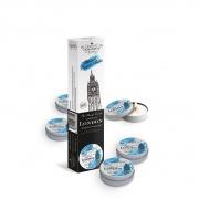 akcesoria erotyczne: wystrój wnętrz świeczka zapachowa Zestaw świeczek - London // czarna porzeczka i rabarbar