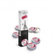 akcesoria erotyczne: wystrój wnętrz świeczka zapachowa Zestaw świeczek - Paris // wanilia i drewno