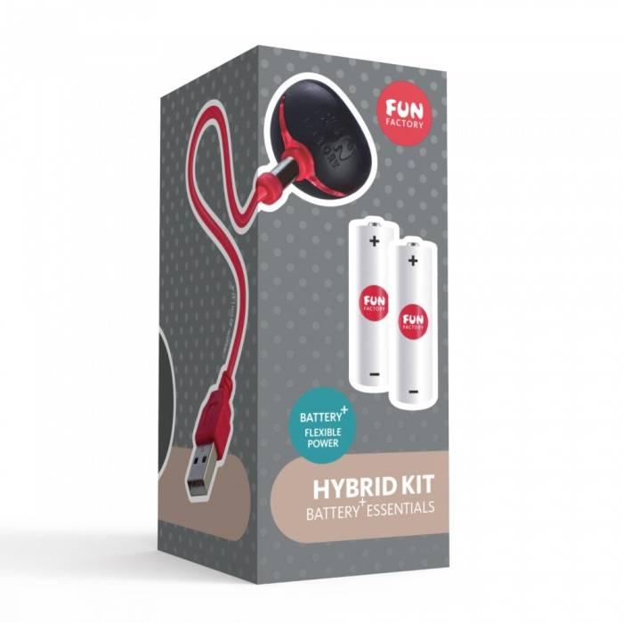 akcesoria erotyczne: Hybrid Kit // zestaw ładujący // do wibratorów hybrydowych