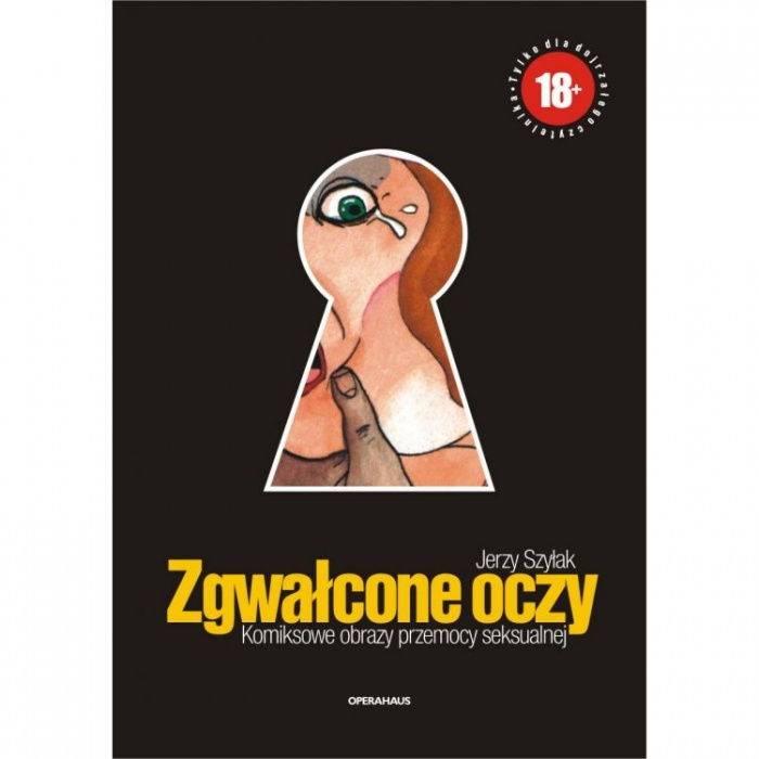książki erotyczne: Zgwałcone oczy